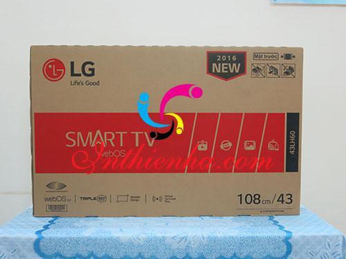 Đặc điểm thùng carton in offset đựng tivi