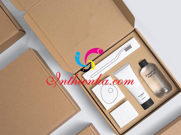 In hộp giấy đựng mỹ phẩm