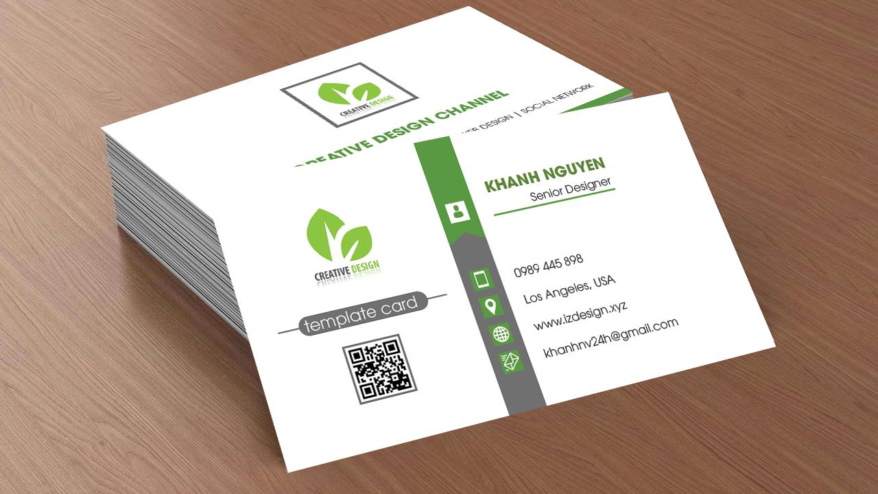 Kết quả hình ảnh cho thiết kế namecard
