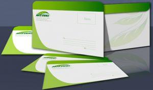 Thiết kế in bao thư chuyên nghiệp đơn giản và ấn tượng