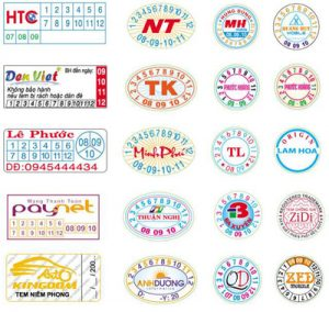 In tem bảo hành tại Ba Đình giá rẻ lấy ngay chỉ 50đ, thiết kế miễn phí