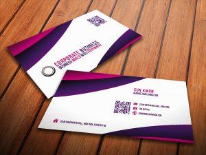 Mẫu card visit bằng tiếng Anh đẹp phù hợp với mọi ngành nghề