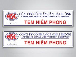 In tem niêm phong chất liệu Decal bể giá rẻ lấy ngay tại Hà Nội