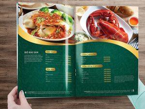 In thực đơn Menu dành cho nhà hàng giá rẻ lấy ngay tại Hà Nội