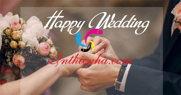 Happy wedding vector