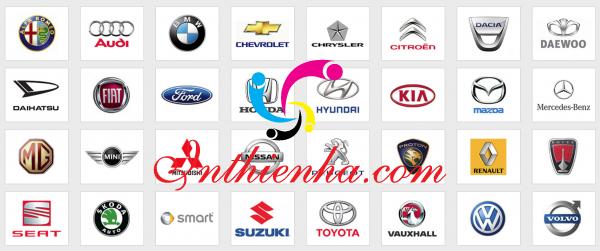 Logo các hãng xe hơi File Vector