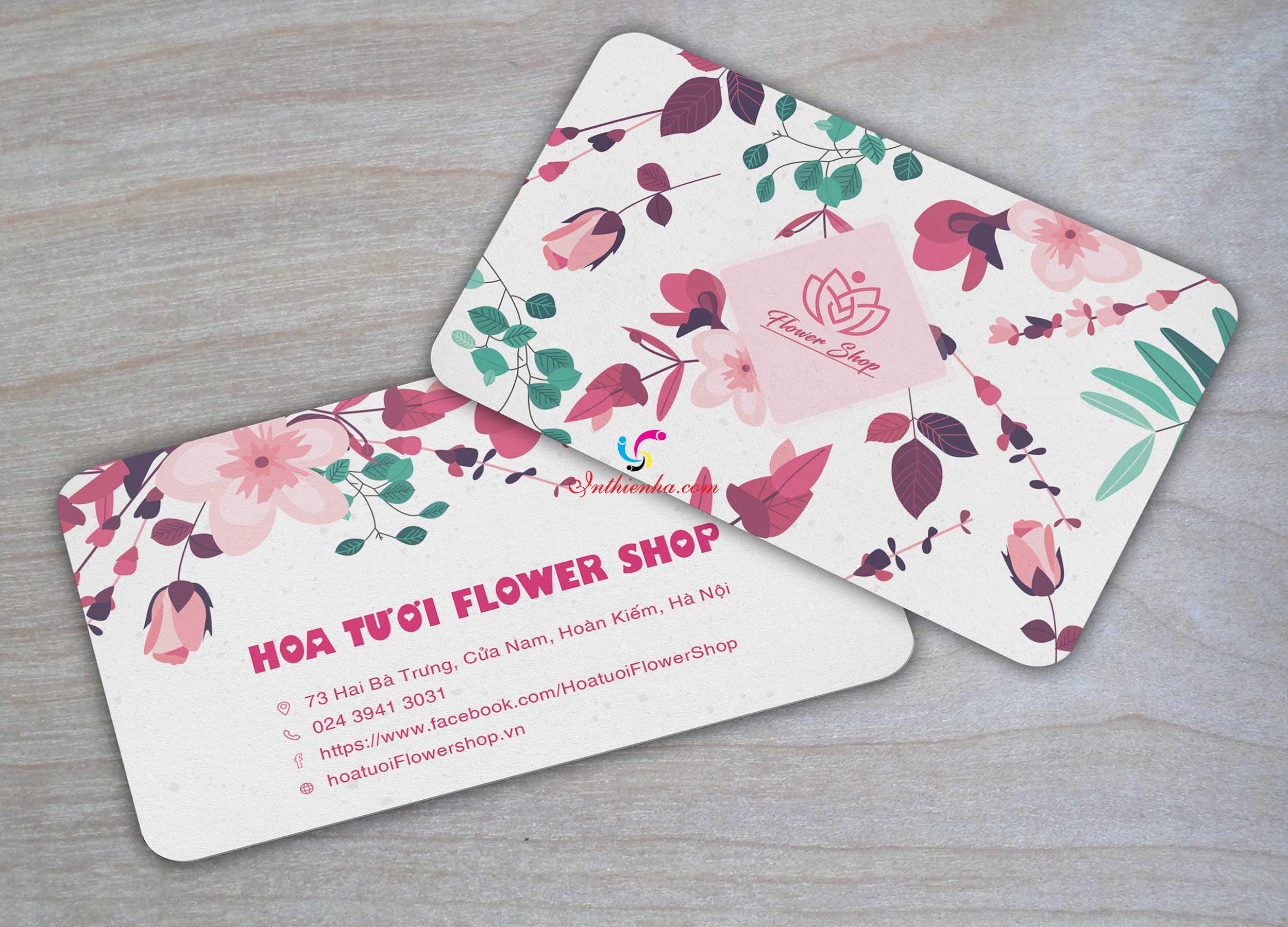 card visit shop hoa