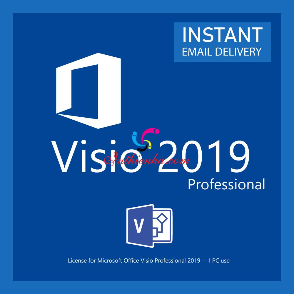 Tải Microsoft Visio 2019 Professional