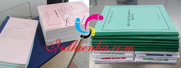 Nhu cầu in tài liệu