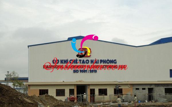 biển quảng cáo cho xưởng cơ khí