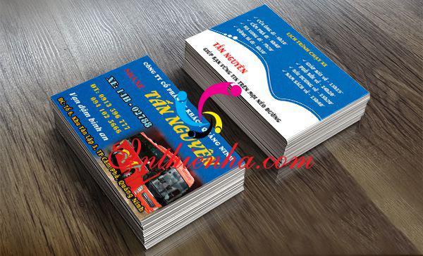 mẫu card thuê xe du lịch 45 chỗ