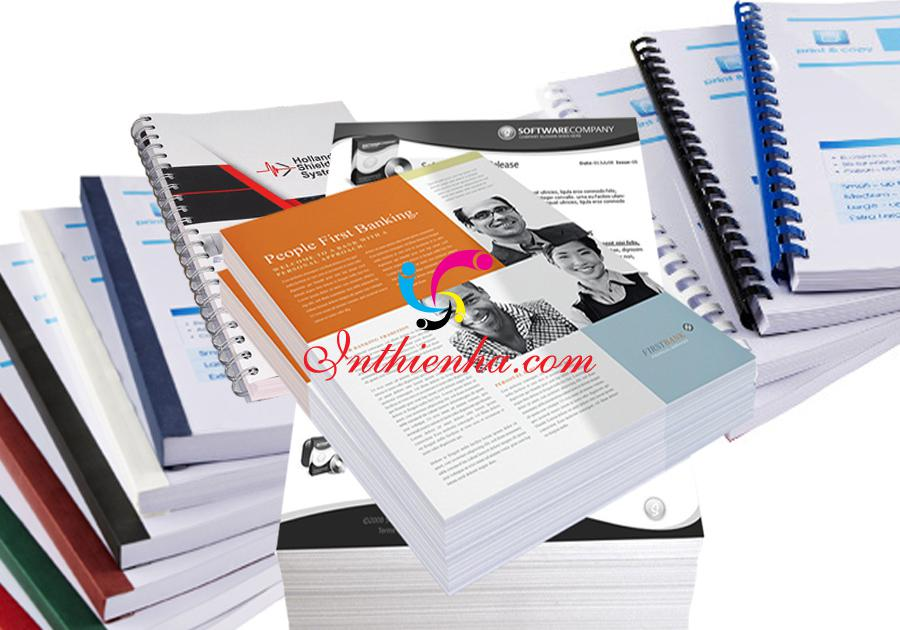 cơ sở in tài liệu uy tín, chất lượng