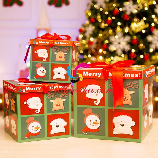 in hộp đựng quà giáng sinh