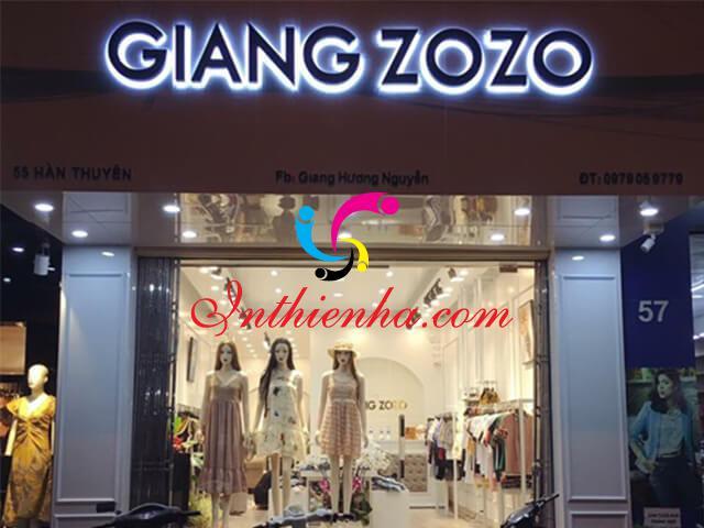 Mẫu biển quảng cáo shop quần áo