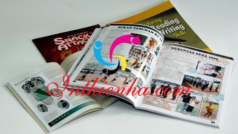 nguyên tắc cơ bản khi in tạp chí